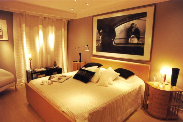 Dicas de iluminação para Dormitórios – Branco quente x  ~ Luminarias Para Leitura Quarto