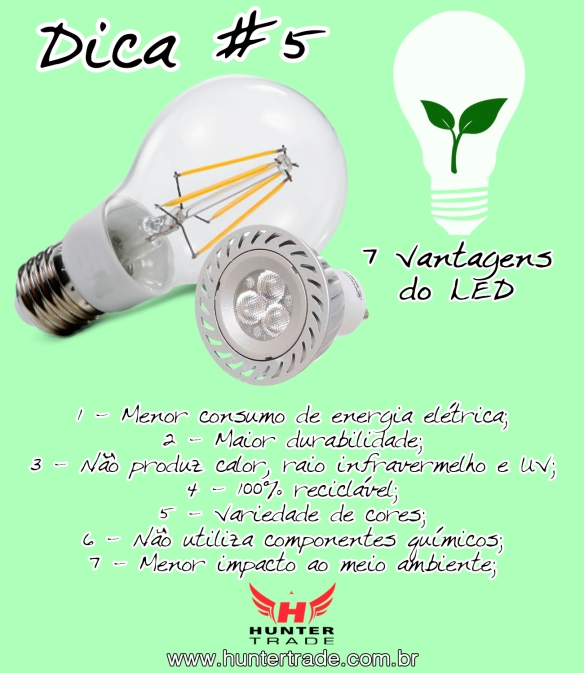 vantagens do led